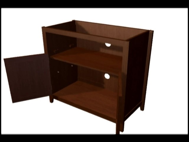 Model 9004 Highboy TV Stand  - image 7 from the video