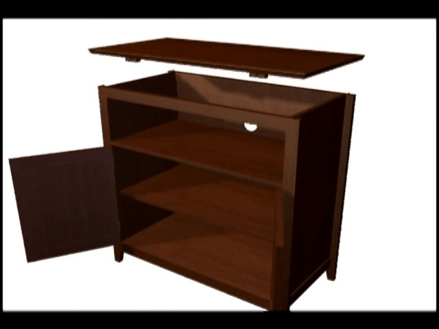 Model 9004 Highboy TV Stand  - image 8 from the video