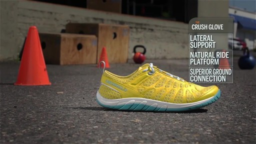 Women's Merrell Crush Glove Shoes Video - image 2 from the video