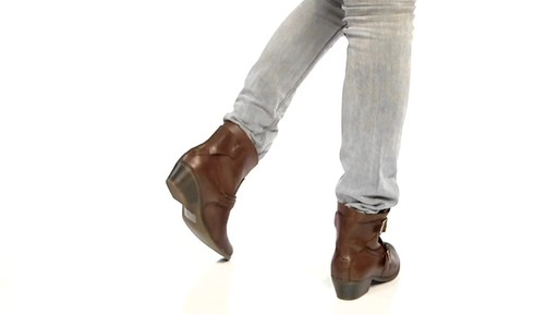 Women's Kenneth Cole Reaction Love Tale Ankle Boots - image 5 from the video