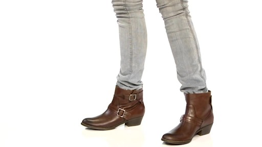 Women's Kenneth Cole Reaction Love Tale Ankle Boots - image 7 from the video