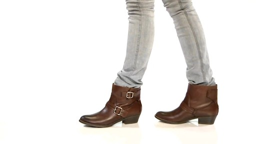Women's Kenneth Cole Reaction Love Tale Ankle Boots - image 8 from the video
