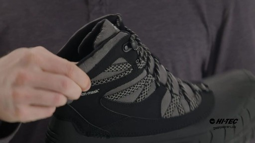 Hi-Tec Ozark 200 i WP Outdoor Ankle Boots - image 6 from the video