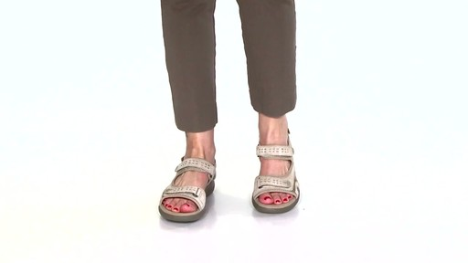 Women's Clarks Morse Tour Walking Sandals Video - image 1 from the video
