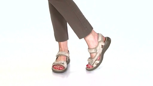 Women's Clarks Morse Tour Walking Sandals Video - image 2 from the video