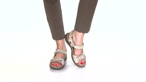 Women's Clarks Morse Tour Walking Sandals Video - image 3 from the video