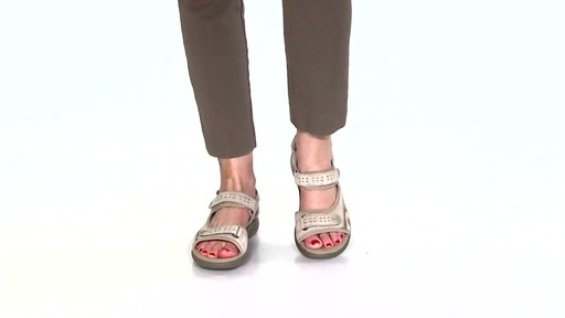 Women's Clarks Morse Tour Walking Sandals Video - image 4 from the video