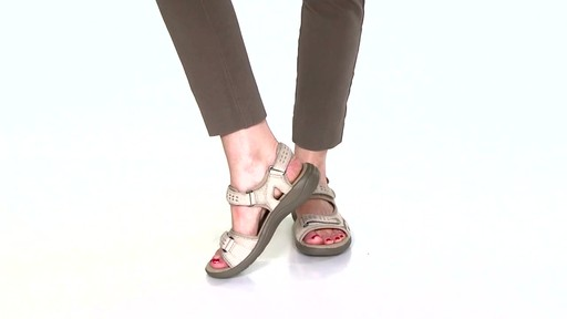 Women's Clarks Morse Tour Walking Sandals Video - image 5 from the video