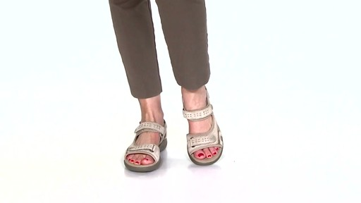 Women's Clarks Morse Tour Walking Sandals Video - image 6 from the video