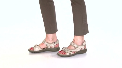 Women's Clarks Morse Tour Walking Sandals Video - image 7 from the video