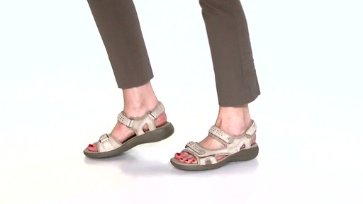 Women's Clarks Morse Tour Walking Sandals Video - image 8 from the video