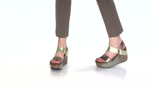 Women's OTBT Bushnell Wedge Sandals Video - image 1 from the video