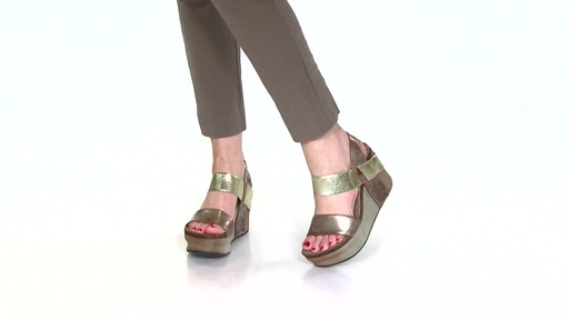 Women's OTBT Bushnell Wedge Sandals Video - image 2 from the video