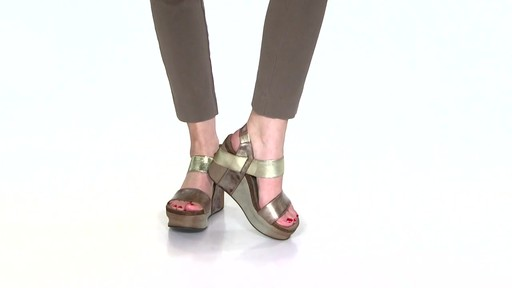 Women's OTBT Bushnell Wedge Sandals Video - image 3 from the video