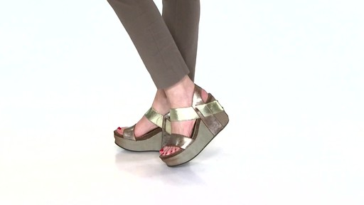 Women's OTBT Bushnell Wedge Sandals Video - image 7 from the video