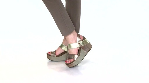 Women's OTBT Bushnell Wedge Sandals Video - image 8 from the video