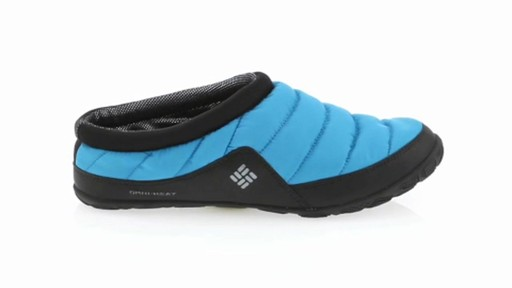 Men's Columbia Packed Out™ Omni-Heat Slippers - image 10 from the video