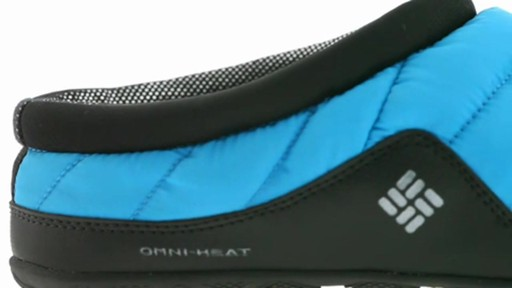 Men's Columbia Packed Out™ Omni-Heat Slippers - image 9 from the video
