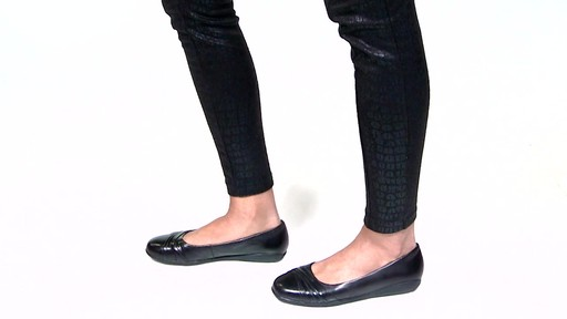 Women's Walking Cradles Flick Ballet Flats Video - image 1 from the video