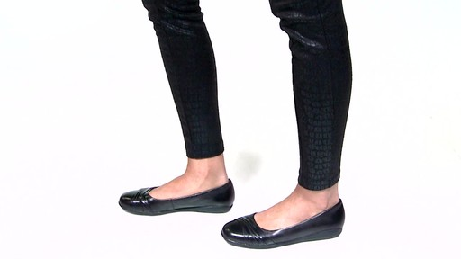 Women's Walking Cradles Flick Ballet Flats Video - image 2 from the video