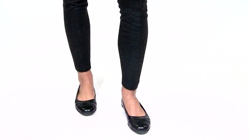 Women's Walking Cradles Flick Ballet Flats Video - image 4 from the video