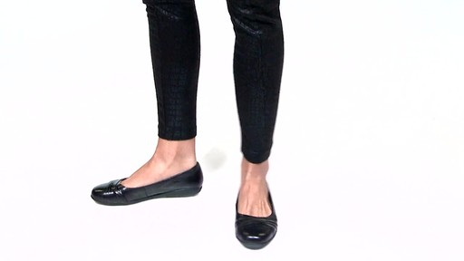 Women's Walking Cradles Flick Ballet Flats Video - image 7 from the video