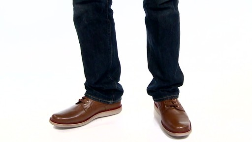 Men's Rockport Eastern Parkway Plain Toe Low Oxfords Video - image 2 from the video