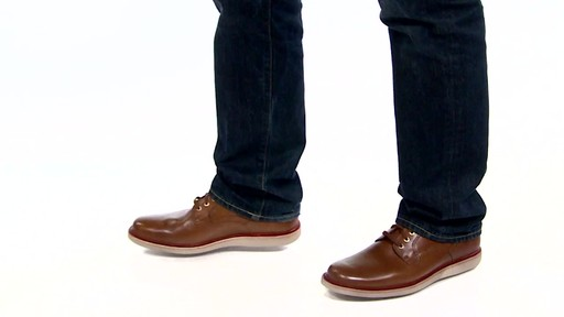 Men's Rockport Eastern Parkway Plain Toe Low Oxfords Video - image 4 from the video