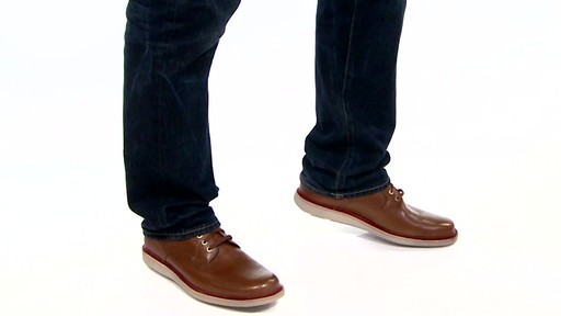 Men's Rockport Eastern Parkway Plain Toe Low Oxfords Video - image 5 from the video