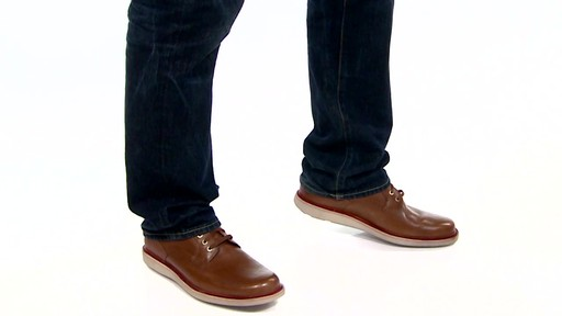 Men's Rockport Eastern Parkway Plain Toe Low Oxfords Video - image 6 from the video