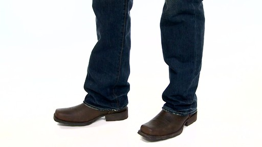 Men's Ariat Rambler Cowboy Boots Video » Men's, Women's & Kids ...