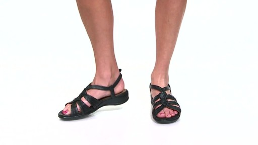 Women's Clarks Tiffani Molly Ankle Strap Sandals Video - image 1 from the video