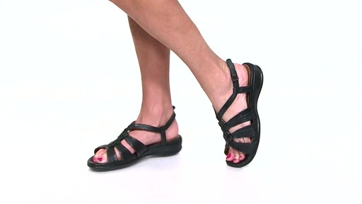 Women's Clarks Tiffani Molly Ankle Strap Sandals Video - image 7 from the video