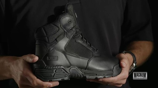 Magnum Stealth Force 6.0 Work Boots - image 1 from the video