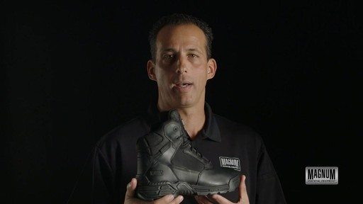 Magnum Stealth Force 6.0 Work Boots - image 10 from the video