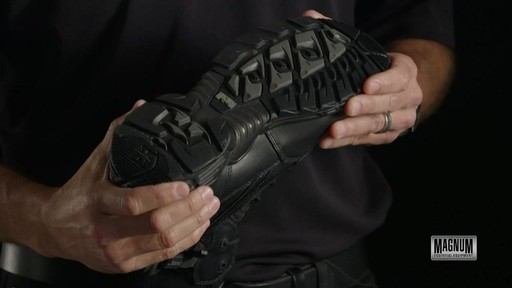 Magnum Stealth Force 6.0 Work Boots - image 2 from the video