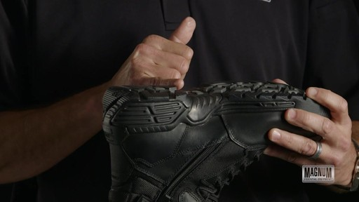 Magnum Stealth Force 6.0 Work Boots - image 3 from the video
