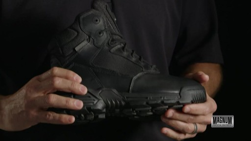 Magnum Stealth Force 6.0 Work Boots - image 5 from the video