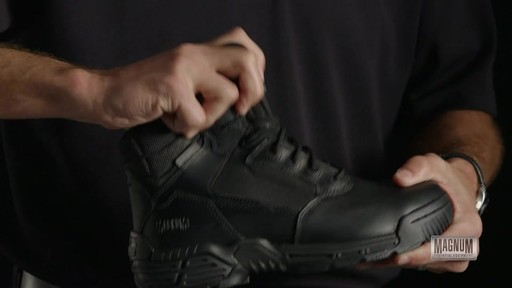 Magnum Stealth Force 6.0 Work Boots - image 6 from the video
