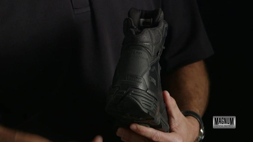 Magnum Stealth Force 6.0 Work Boots - image 7 from the video