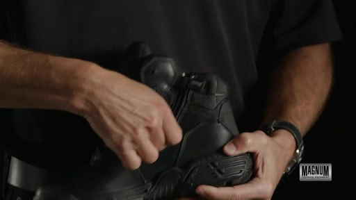 Magnum Stealth Force 6.0 Work Boots - image 8 from the video