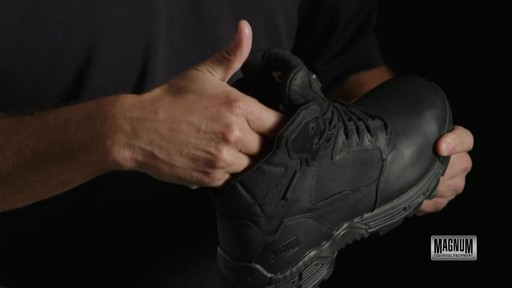 Magnum Stealth Force 6.0 Work Boots - image 9 from the video