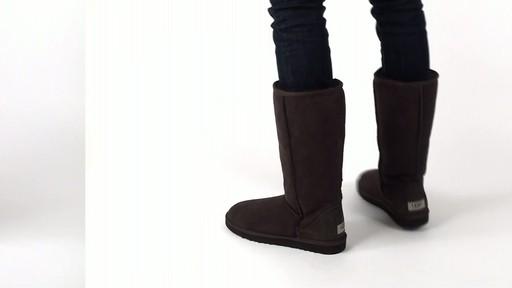 ... ugg womens classic tall tasman boots black ...