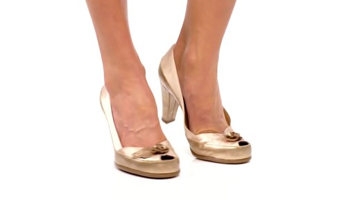 Aerosoles Bengal Rose Peep-Toe Pumps Product Video - image 1 from the video
