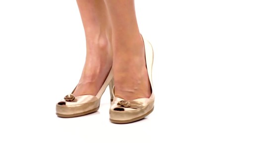 Aerosoles Bengal Rose Peep-Toe Pumps Product Video - image 2 from the video