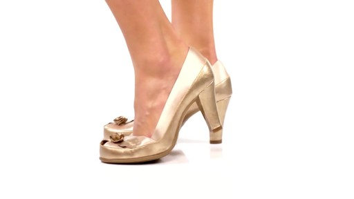 Aerosoles Bengal Rose Peep-Toe Pumps Product Video - image 3 from the video
