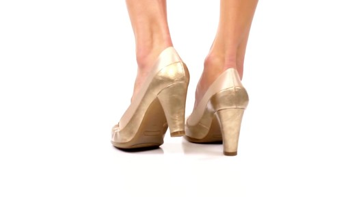 Aerosoles Bengal Rose Peep-Toe Pumps Product Video - image 4 from the video