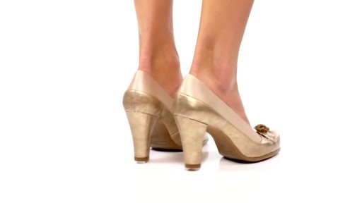 Aerosoles Bengal Rose Peep-Toe Pumps Product Video - image 5 from the video