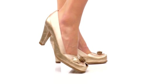 Aerosoles Bengal Rose Peep-Toe Pumps Product Video - image 6 from the video