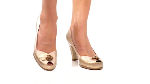 Aerosoles Bengal Rose Peep-Toe Pumps Product Video - image 7 from the video